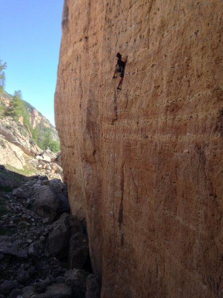 Rock Climbing Photo: Amazing climbing