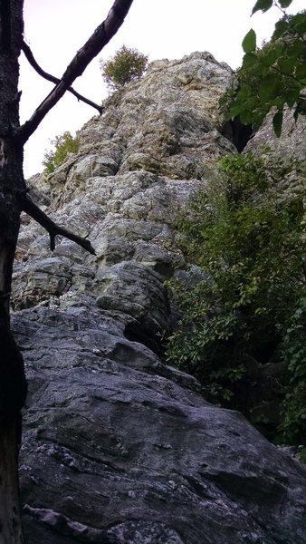 Rock Climbing Photo: Hopscotch. Easy but fun adventure climbing.
