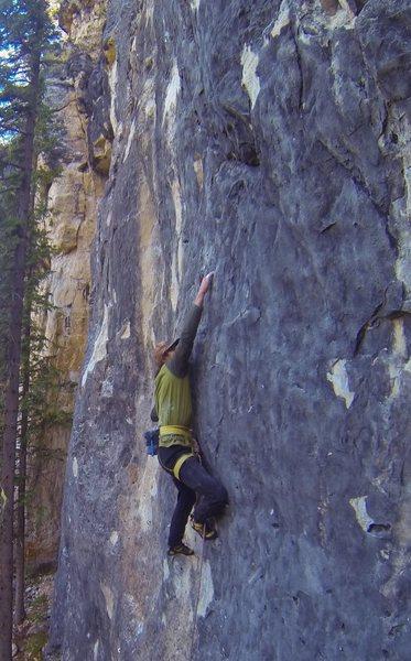 Rock Climbing Photo: Mark is smiling!