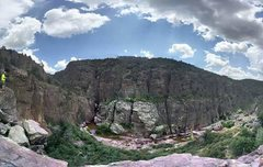 Rock Climbing Photo: Southern Wall, Christopher Creek Gorge Az