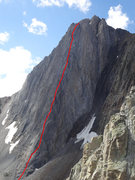 Rock Climbing Photo: The North Buttress Direct