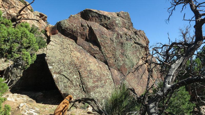 Rock Climbing Photo: Wraith's east face.