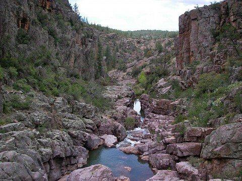 http://www.merelyafleshwound.com/canyoneering/arizona/christopher-creek/