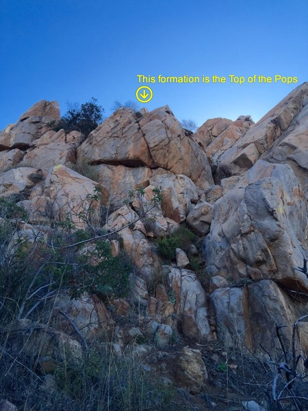 Rock Climbing Photo: How to find Top of the Pops