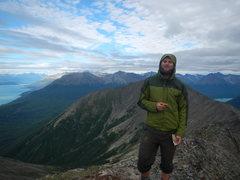 Rock Climbing Photo: Top of Mt. Tanalian in Lake Clark NP, Alaska