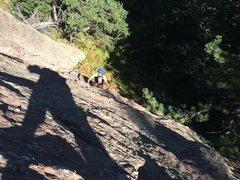 Rock Climbing Photo: Looking down the start. Fun!
