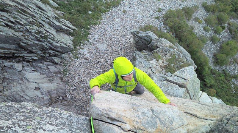 Rock Climbing Photo: W-G