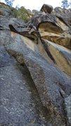 Rock Climbing Photo: Ya Made the move!!!
