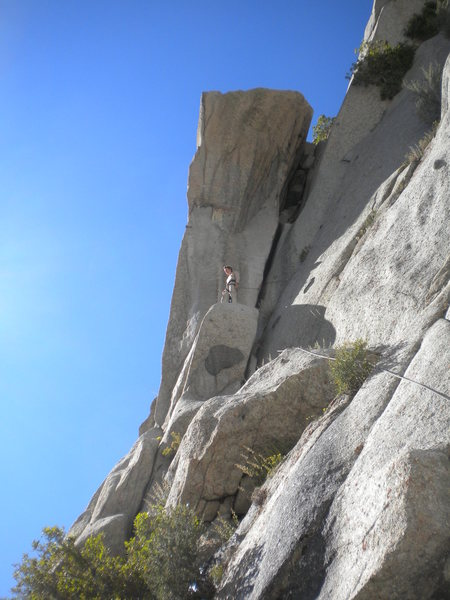 Rock Climbing Photo: The OW is longer than it looks from here