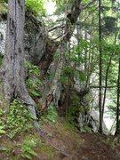 Rock Climbing Photo: Approach Ramp
