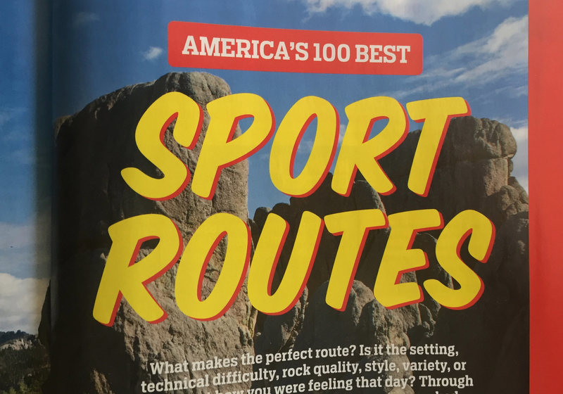 From Climbing Magazine.
