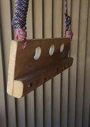 Rock Climbing Photo: Portable hangboard for travel and pre-proj warmup....