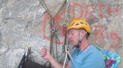 Rock Climbing Photo: Sketch!