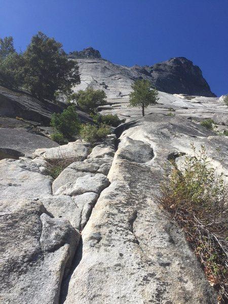 Rock Climbing Photo: Base of climb