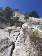 Base of climb