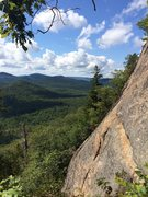 Rock Climbing Photo: View from the Belay of Stand Your Ground and Actio...