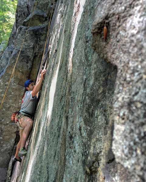 Rock Climbing Photo: Beginning moves of Blowout