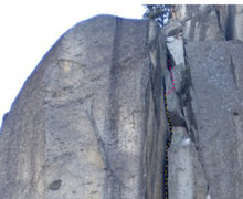 """Rock Climbing Photo: this is how you go passing through the """"narro..."""