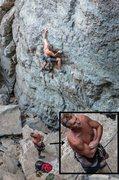 Rock Climbing Photo: Wtf?!?