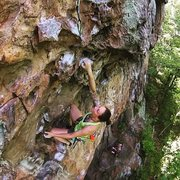 Rock Climbing Photo: Bypassing the difficulties