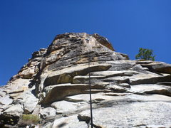 Rock Climbing Photo: Not sure what route this is; very gronky. Bolts le...