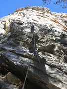 Rock Climbing Photo: Guessing this is one of the 5.7s on the north east...