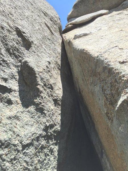 Rock Climbing Photo: Pitch 4 - 10a