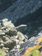Rock Climbing Photo: Diving Board From Above p4