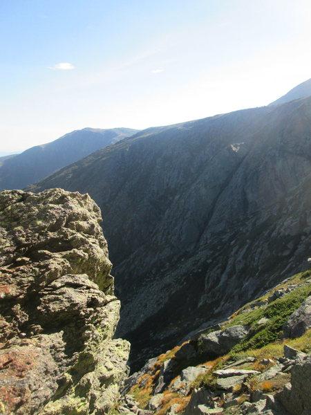 Top of Henderson Ridge
