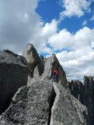 Rock Climbing Photo: Wolf's Head in the Cirque