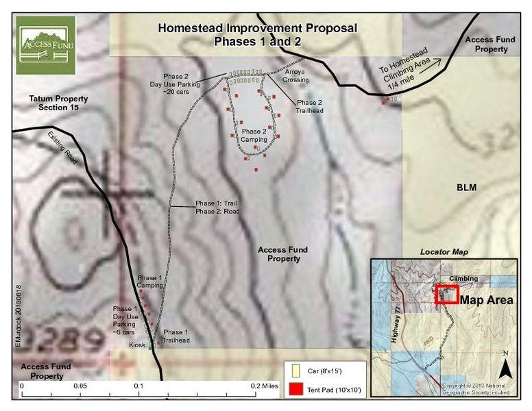 Homestead Map