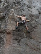 Rock Climbing Photo: Trying to find some good in Civilized Evil.
