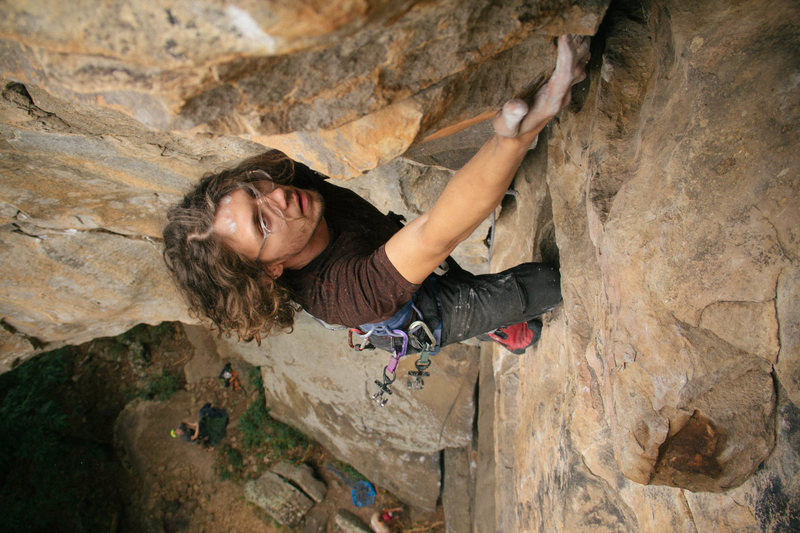 Rock Climbing Photo: Hudson Crack 5.8