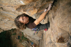 Rock Climbing Photo: Hudson Crack 5.8