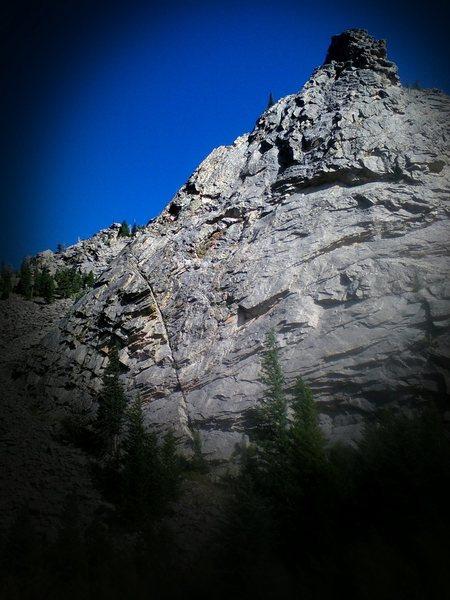 Piz Badille- The Ridge