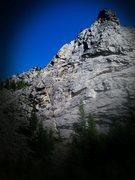 Rock Climbing Photo: Piz Badille- The Ridge