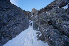 Rock Climbing Photo: it's not that steep brah