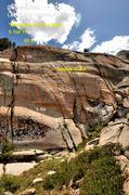 "Rock Climbing Photo: ""Beating Around the Bush"" 5.10d TR"