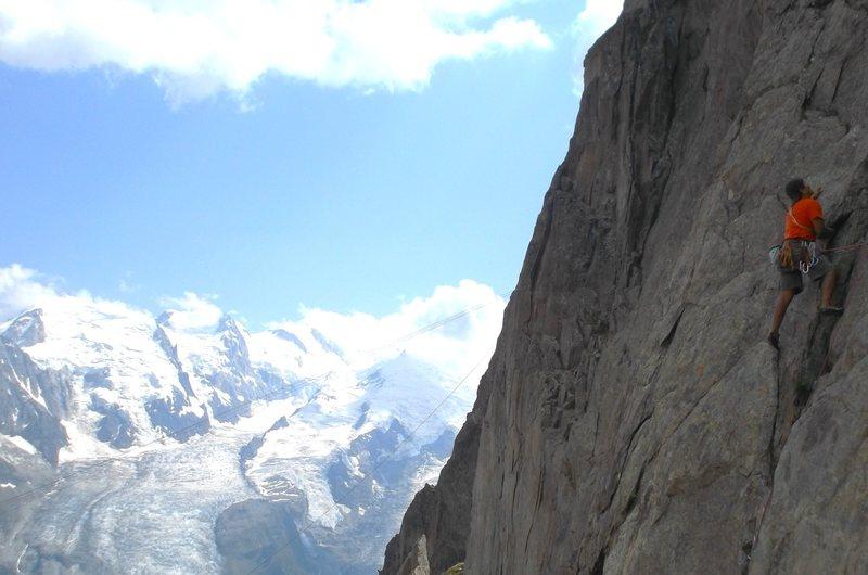Rock Climbing Photo: Climbing in Cham