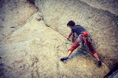 Rock Climbing Photo: Fun crux! Everything else was good too, but I real...