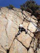Rock Climbing Photo: Sweet Pea.