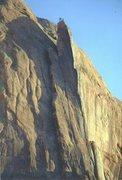 Rock Climbing Photo: FA Moab Rim Tower ...On The Summit Jimmy Dunn ,Pau...