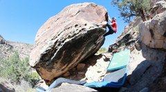 Rock Climbing Photo: The awesome finish.