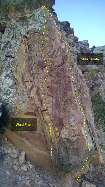 West Face and Arete.