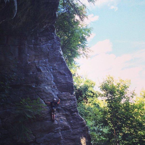 Rock Climbing Photo: Farley pic 1