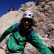 Rock Climbing Photo: descending grand teton