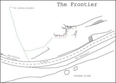 Rock Climbing Photo: Beta map of the Frontier bouldering area