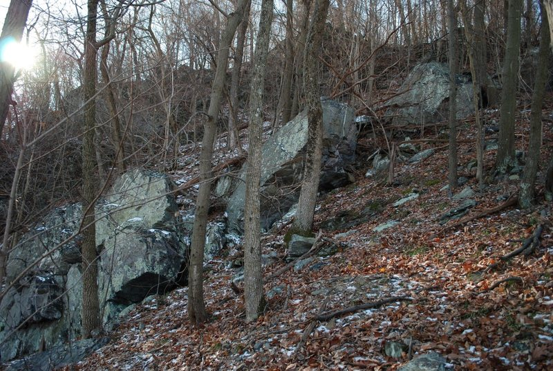 The boulders