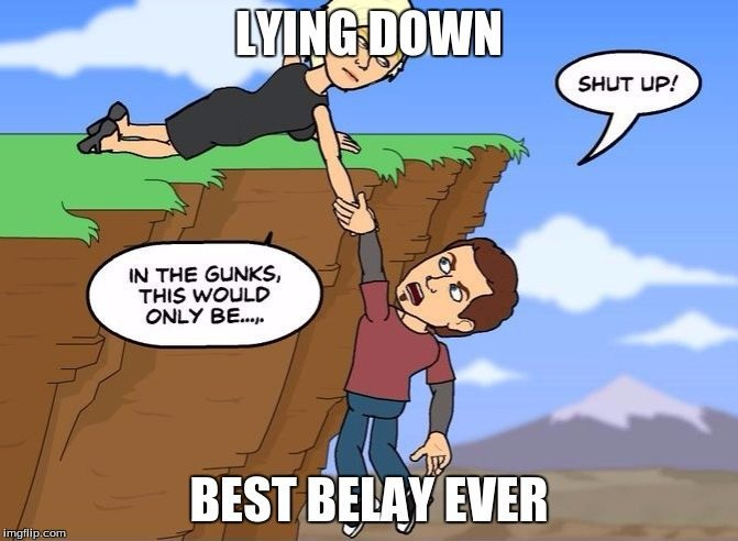 Best belay ever