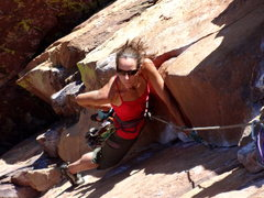 Rock Climbing Photo: Pitch 4